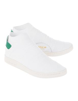 ADIDAS ORIGINALS Stan Smith Sock Primeknit White