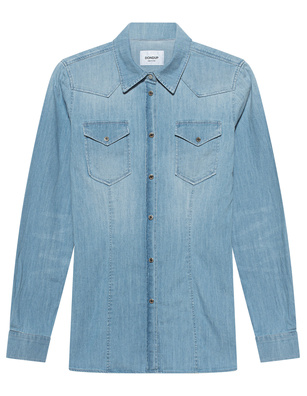 Dondup Western Chest Pocket Denim Blue