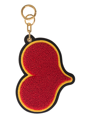 CHAOS Chenille Heart Red