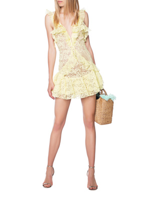 FOR LOVE AND LEMONS Tati Yellow