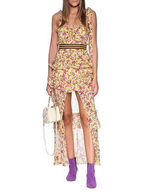 FOR LOVE AND LEMONS Flower Dress Yellow