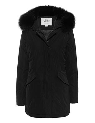 WOOLRICH Luxury Arctic Fox Black