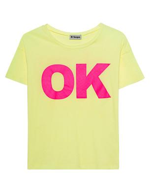 liv bergen Liv Shirt Okay Yellow
