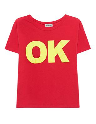 liv bergen Liv Shirt Okay Red