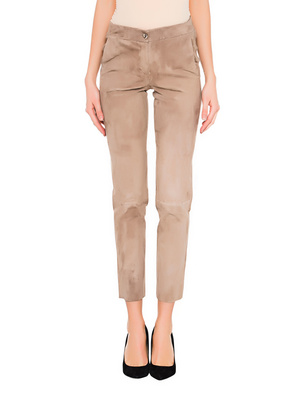 ARMA Chinita Stretch Suede Beige