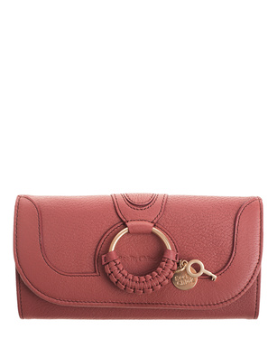 SEE BY CHLOÉ Charms Gold Ring Dusky Pink