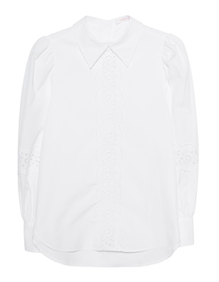 SEE BY CHLOÉ Crochet Details White
