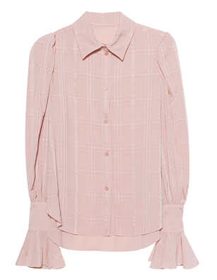 SEE BY CHLOÉ Check Puff Smoky Rose