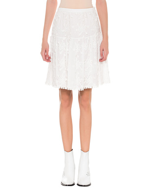 SEE BY CHLOÉ Flared Floral White