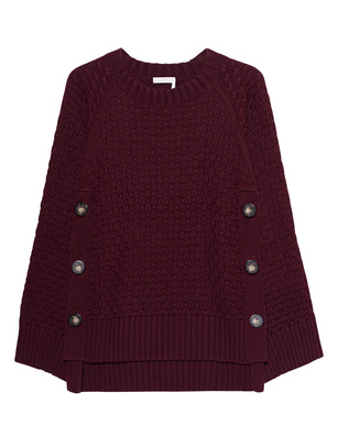 SEE BY CHLOÉ Knit Obscure Bordeaux