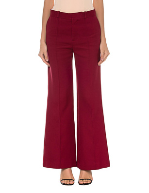 SEE BY CHLOÉ Cotton High Waist Red