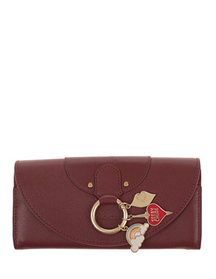 SEE BY CHLOÉ Charms Gold Ring Bordeaux