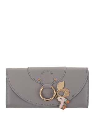 SEE BY CHLOÉ Charms Gold Ring Grey