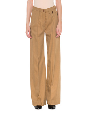 SEE BY CHLOÉ Wide Leg Cognac