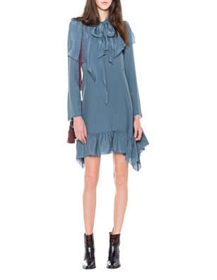 SEE BY CHLOÉ Ruffle Blue