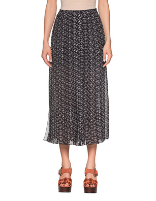 SEE BY CHLOÉ Midi Pleated Black