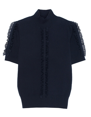 SEE BY CHLOÉ Lace Knit Navy