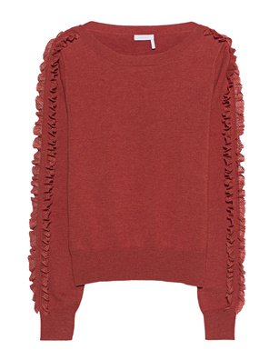 SEE BY CHLOÉ Lace Cosy Orange