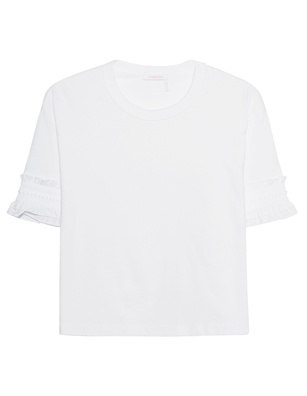 SEE BY CHLOÉ Short Top White