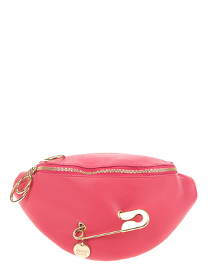 SEE BY CHLOÉ Safety Pin Belt Mini Ardent Pink