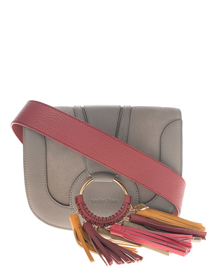 SEE BY CHLOÉ Fringes Bag Motty Grey