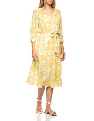 VELVET BY GRAHAM & SPENCER Ciara Floral Yellow