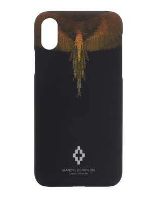 Marcelo Burlon iPhone X Wings Black
