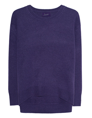 JADICTED Round Neck Purple