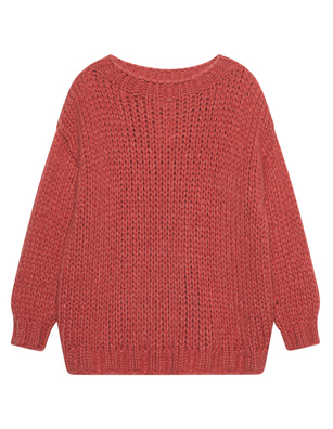 ELLA SILLA Chunky Cashmere Red Pepper