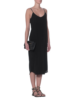 JADICTED Slip Dress Black