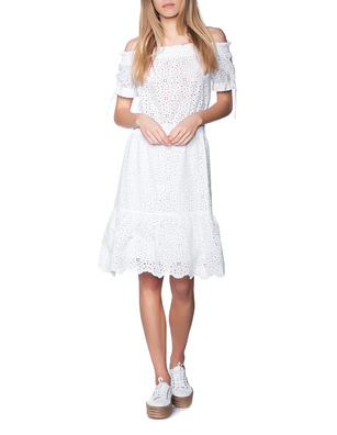JADICTED Cotton Lace White