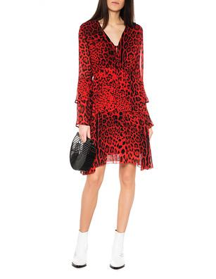 JADICTED Redblack Dress Leo