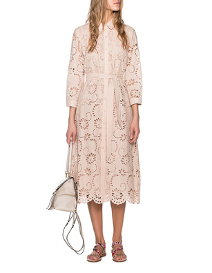 JADICTED Eyelet Embroidery Beige