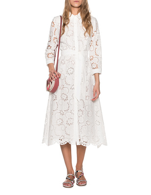 JADICTED Eyelet Embroidery White
