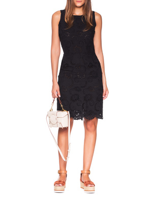 JADICTED Embroidery Lace Black