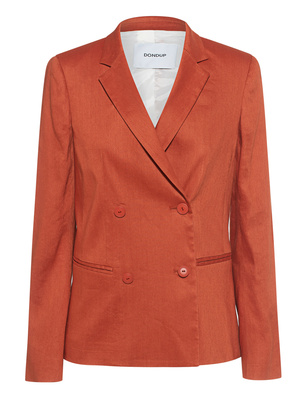 Dondup Giacca Linen Orange