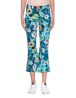Dondup Benedicte Flower Print Turquoise