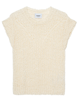 Dondup Knit Top Cream