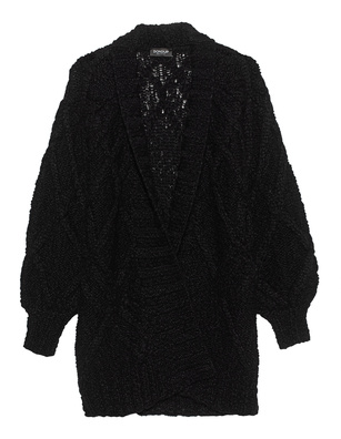 Dondup Cable Knit Black