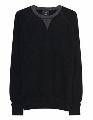 CROSSLEY Raglan Knit Black