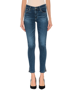 AG Jeans The Farrah High Rise Skinny Ankle Blue