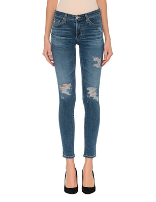AG Jeans Ankle Destroyed Blue