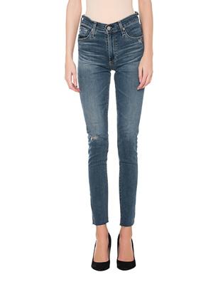 AG Jeans The Farrah Skinny Ankle Blue