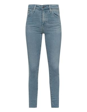 AG Jeans The Farrah Skinny Ankle Light Blue