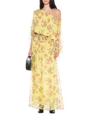 eywasouls Malibu Flowers Evelyn Offshoulder Yellow