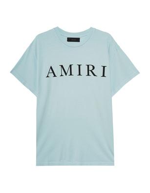 Amiri Large Logo Crystal Blue