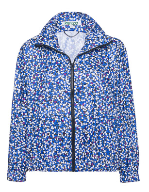 KENZO Flower Print Blue