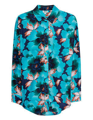 KENZO Casual Flower Silk Multicolor