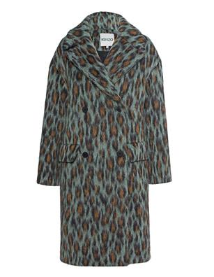 KENZO Leopard Straight Multicolor