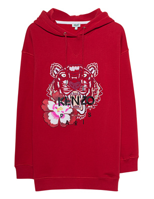KENZO Hood Tiger Relax Red